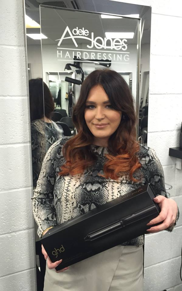 ghd Classic Wave Wand Winner Adele Jones Hairdressing Barnsley